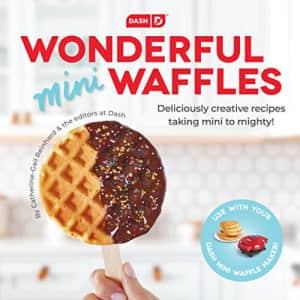 DASH DCB001MW Wonderful Mini Waffles Recipe Book with Gluten, Vegan, Paleo, Dairy + Nut Free for $10