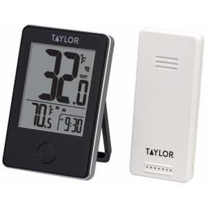 Taylor Precision Products Wireless Digital Indoor/Outdoor Thermometer for $17
