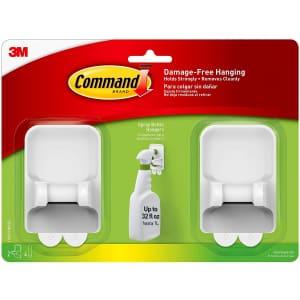 Command Spray Bottle Hanger 2-Pack for $6