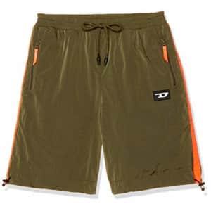 Diesel Men's UMLB-PANLEY Shorts, Olive Night, X-Large for $64