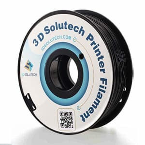 3D Solutech - ABS175RBLK Real Black 1.75mm ABS 3D Printer Filament 2.2 LBS (1.0KG) for $16