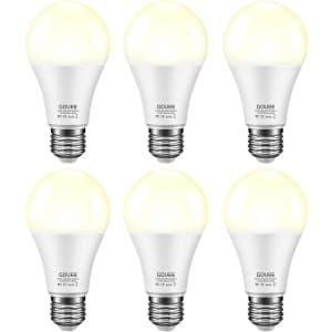 Govee 7W Dusk to Dawn LED Light Bulb 6-Pack for $22