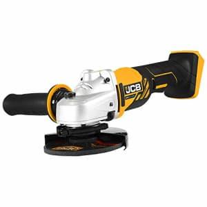 "JCB Tools - JCB 20V Angle Grinder 4-1/2"" Cordless - Without Battery, JCB-20AG-B for $64"