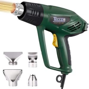 Teccpo 1500W Heat Gun for $15