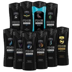 AXE Shower Gel / Body Wash 8.45-oz. 10-Pack for $24