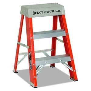 Louisville Ladder FS1502 Step Ladder, 2-Feet, Orange for $65