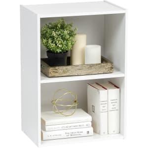 IRIS USA 2-Tier Wood Storage Shelf for $20