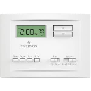 Emerson Single Stage 5-2 Programmable Thermostat for $21
