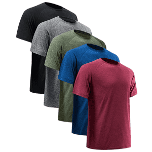 Nextex Men's Dry-Fit Performance T-Shirt 5-Pack for $29