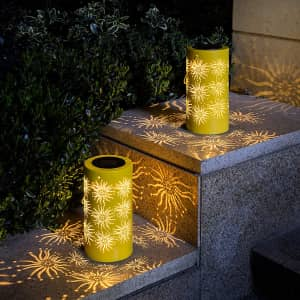 Solpex Solar Hanging Lantern 2-Pack for $18