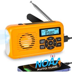 NOAA Emergency Weather Radio for $17