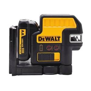 DEWALT 12V MAX Laser Level, 5 Spot + Cross Line Laser, Red, 165-Foot Range (DW0825LR) for $305