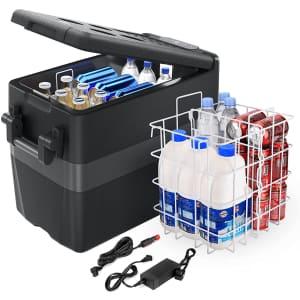 JoyTutus 12V 42-Quart Portable Car Refrigerator for $330