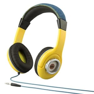 eKids Despicable Me Minions Kid Friendly Headphones with Built in Volume Limiting Feature for Safe for $30