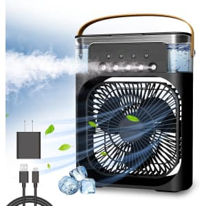 NTMY Portable Personal Air Cooler for $48