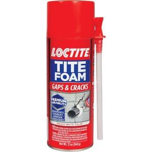 Loctite TiteFoam 12-oz. Polyurethane Foam Sealant for $6