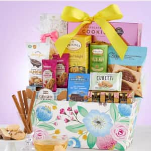 Blooming Delights Gift Basket from $30