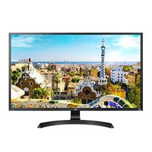 LG 32UD60-B 4K UHD Monitor with AMD FreeSync, Black for $446
