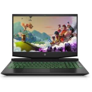 """HP Pavilion Coffee Lake i5 15.6"""" Gaming Laptop for $650"""