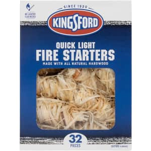 Kingsford 32-Count Fire Starters for $13