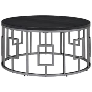 """Picket House Furnishings Kendall 36"""" Round Coffee Table for $176"""