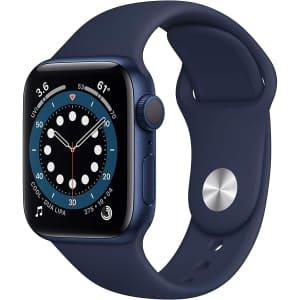Apple Watch Series 6 40mm GPS Sport Smartwatch for $349