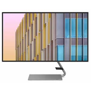 "Lenovo Q27h-10 27"" Monitor, QHD 2560x1440 IPS LED 66A7GCC2US (renewed) for $288"