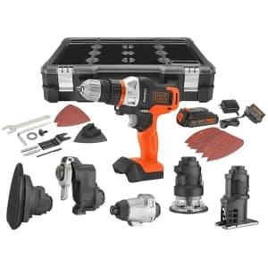 Black + Decker 6-Tool Combo Kit for $159