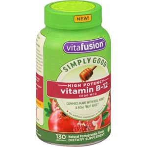 Vitafusion Simply Good B-12 Gummy Vitamins, 130 ct for $40