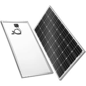 BougeRV 180W 12V Monocrystalline Solar Cell Charger for $170