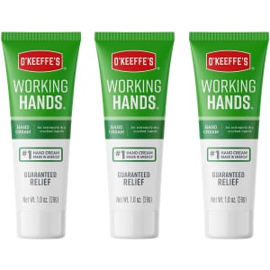 O'Keeffe's 1-oz. Working Hands Hand Cream 3-Pack for $7