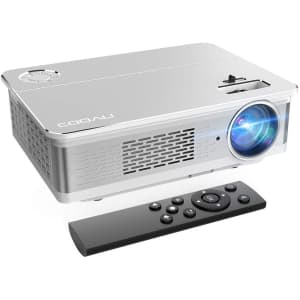 Cooau 1080p Projector for $190