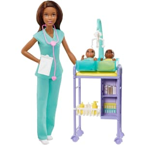Barbie Baby Doctor Playset for $26
