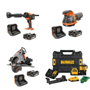 Hand Tools, Power Tools, and Combo Kits at Home Depot: Up to $150 off