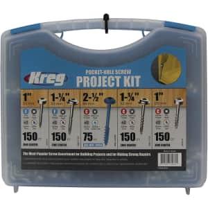 Kreg SK03 Pocket-Hole Screw Kit for $24