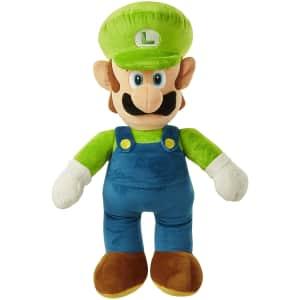 "World of Nintendo 21"" Luigi Jumbo Plush for $21"
