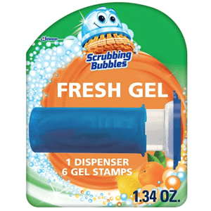 Scrubbing Bubbles Fresh Gel Toilet Bowl Cleaning Stamps 6-Count for $3.39 via Sub & Save