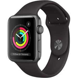 Apple Watch Series 3 GPS 42mm Aluminum Smartwatch for $258