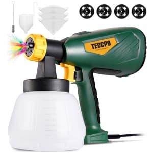 Teccpo 500-Watt Electric Paint Sprayer for $60