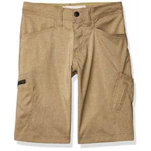 Lee Jeans Lee Boys Dungarees Grafton Cargo Short, Sandcastle Heather, 14 Husky for $20