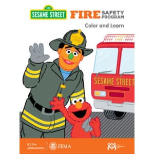 Sesame Street Fire Safety Coloring Book: Free PDF