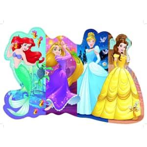 Ravensburger Disney Princess Pretty Princesses Shaped Floor Puzzle for $10