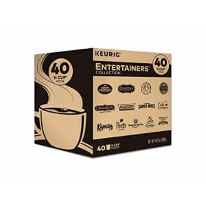 Keurig Entertainers' Collection Variety Pack, Single-Serve Coffee K-Cup Pods Sampler, 40 Count for $26