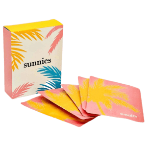 Sunnies Self-Heating Steam Eye Mask Compress 5-Pack for $9