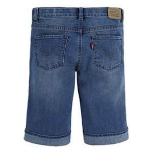 Levi's Girls' Denim Bermuda Shorts, Remi, 3T for $23