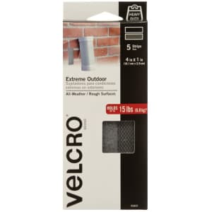 Velcro Brand Extreme Outdoor Fastener 5-Pack for $4