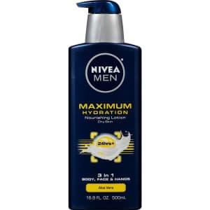 Nivea Men Maximum Hydration 16.9-oz. Lotion for $5