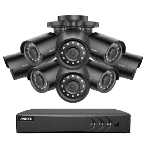 Annke E200 8-Camera 1080p CCTV Wired Security Camera System for $225