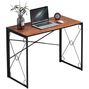 """Vecelo 39"""" Folding Desk for $46"""