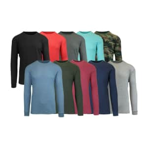 Men's Waffle Thermal Shirt for $9